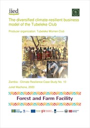 The diversified climate-resilient business model of the Tubeleke Club