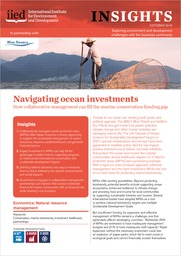 Navigating ocean investments
