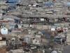 Aerial view of informal settlement