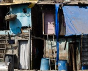 Housing in informal settlement.