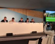 A last-minute speaker change resulted in IIED participating in an all-male panel (or 'manel') at the UN climate summit (Photo: Anne Schulthess)