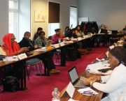 Participants at the 2018 European Capacity Building Initiative workshop for new negotiators from least developed countries countries (Photo: Matt Wright/IIED)