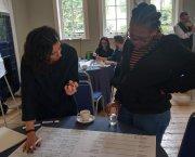 People undertaking workshop activities
