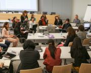 The 2016 Bonn climate change Conference featured a workshop and numerous informal consultations on gender-responsive climate policy (Photo by IISD/ENB/Kiara Worth)