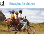 IIED aims to contribute to the achievement of change which benefits poor people and the environment. The institute's strategy for the next two years has been published (Photo: Mike Goldwater/IIED)