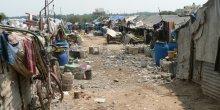 A view of the migrant informal community of Marathahalli, Bengaluru