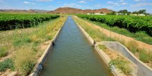 An irrigation canal