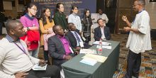 Participants at the third China-Africa Forest Governance Learning Platform meeting in Beijing (Photo: Simon Lim/IIED)