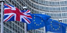 """Images of the UK and EU flags, IIED director Andrew Norton says: """"Losing membership of the European Union must not mean that the UK withdraws from the great global challenges of our time"""" (Photo: Reuters, via Google Licence)"""