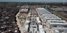 Aerial view of Villa 20, Buenos Aires