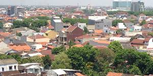 Semarang, Indonesia: One of the ten initial cities in the Asian Cities Climate Change Resilience Network, Semarang has been a pioneer in integrating climate change resilience into city planning and management. (Photo: David Dodman/IIED)