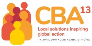 The logo for the CBA13 event