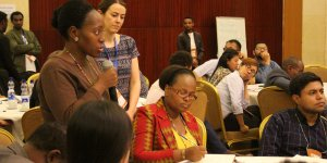 CBA13 participants speaking