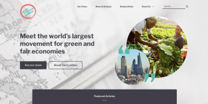 Green Economy Coalition screenshot