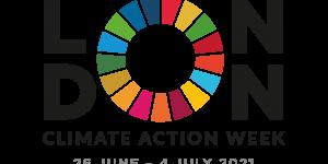 London Climate Action Week 2021 logo