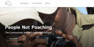 Screenshot of People Not Poaching website
