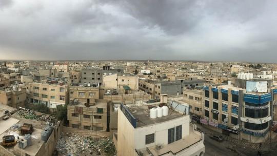 A view of Mafraq City, Jordan
