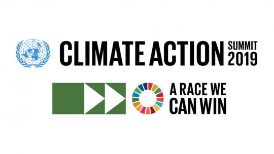 the UN Secretary-General's Climate Action Summit logo